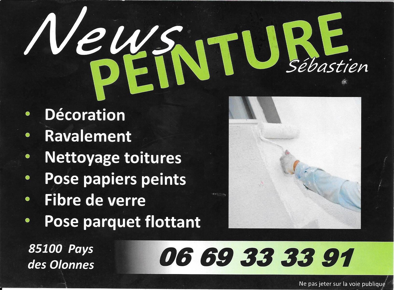 Pétanque logo News Peinture